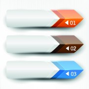 Link toBanners with numbers creative design 04