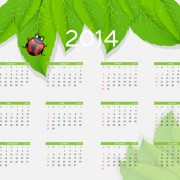 Link to2014 new year calendar design vector 05