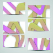 Link toCreative abstract cards vector 03