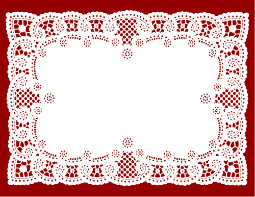 Vintage Ribbon Vector Free Vintage Lace Ribbons Vector 04