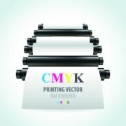 Link toPrinter cmyk design vector 04