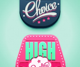 Classic sale tag vector 02