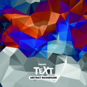 Link toAbstract triangle background vector 02