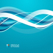 Link toShiny wave background vector 01
