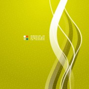 Link toShiny wave background vector 05