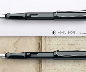 Pen psd graphic