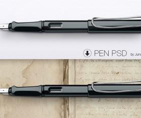 Pen psd graphic