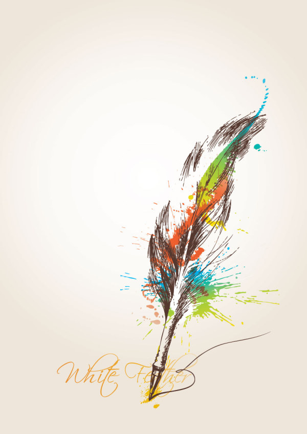 Calendar Wallpaper Quill : Quill vector other free download