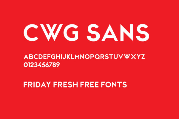 Commonly fonts