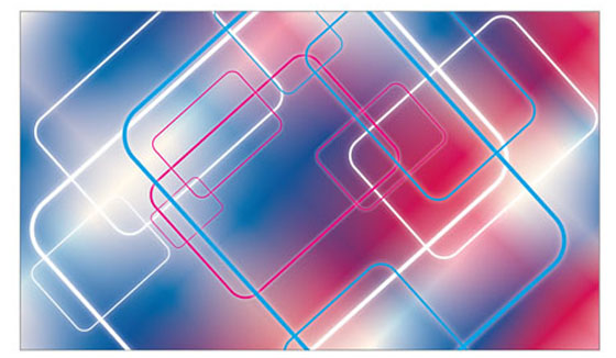 Abstract color rays background