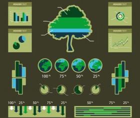 Environmental Protection infographics vector 01