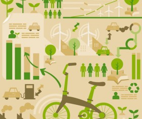 Environmental Protection infographics vector 02