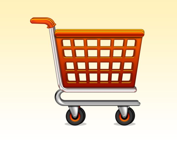 shopping cart icon psd free download