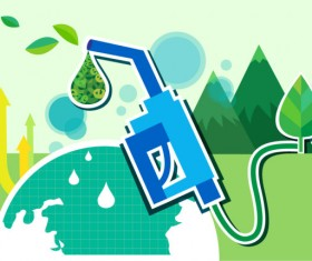 Energy with Environment infographics vector 06
