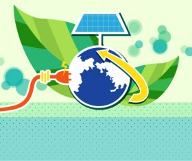 Energy with Environment infographics vector 07