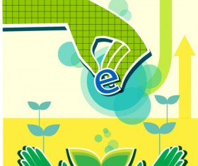Energy with Environment infographics vector 08