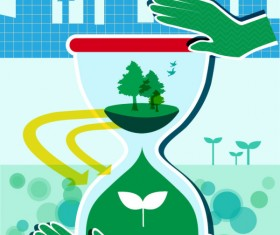 Energy with Environment infographics vector 10