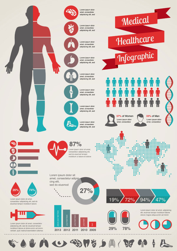 Design vector 05 download name medical infographics creative design