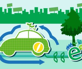 Energy with Environment infographics vector 11