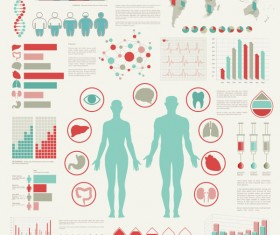 Medical infographics creative design vector 06