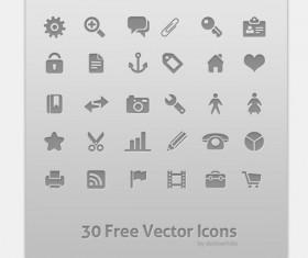 30 Kind free psd icons