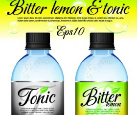Different bottle design vector 04