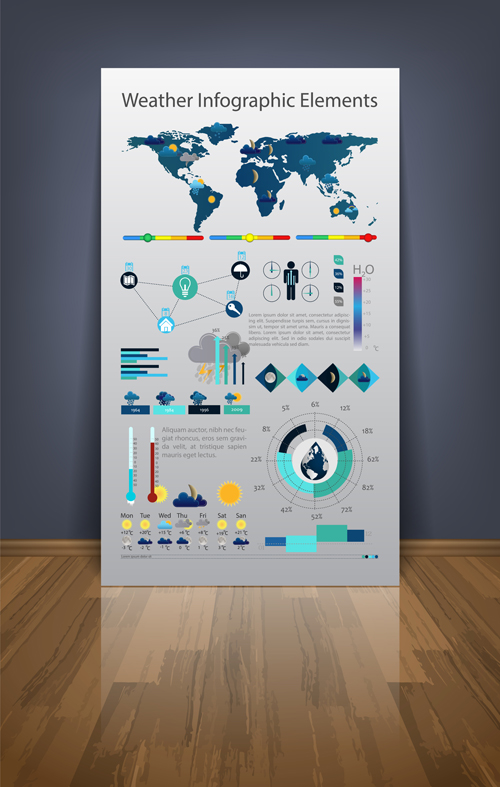 Business Infographic Templates vector set 03 - Vector Business ...