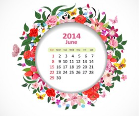 Calendar 2014 vector huge collection 53