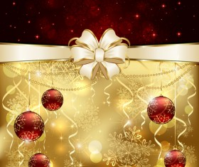 Bright christmas backgrounds vector 05
