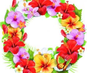 Beautiful flowers vector 01