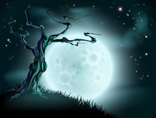 2013 Halloween vector background 02 free download