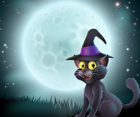 2013 Halloween vector background 04