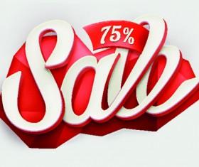 Label sale creative vector 02