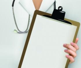 Vector set of Medical background Illustration 02