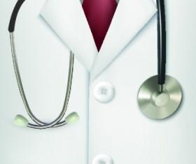 Vector set of Medical background Illustration 05
