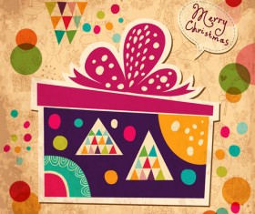 2014 Cute Cartoon Christmas elements vector 01