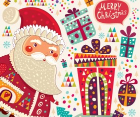 2014 Cute Cartoon Christmas elements vector 05