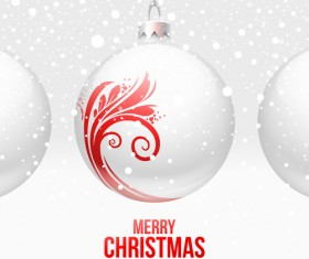 New Year 2014 Christmas elements set vector 01