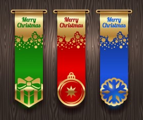 New Year 2014 Christmas elements set vector 10
