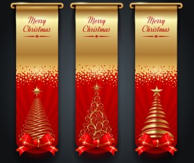 New Year 2014 Christmas elements set vector 11
