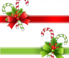 New Year 2014 Christmas elements set vector 14