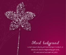 Vintage Spring floral background 31