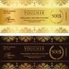 Voucher template vector design 05
