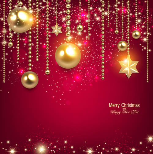Shiny 2014 New Year and Christmas Backgrounds 02