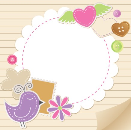 cute baby backgrounds vector 02 free download