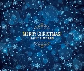 Beautiful christmas background set 02