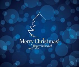 Beautiful christmas background set 03