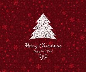 Beautiful christmas background set 06