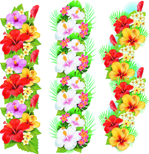 flowers borders vector set 03 free download Vacation Clip Art World Travel Clip Art