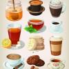 Set of food icons vectors 02